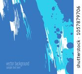vector abstract artistic... | Shutterstock .eps vector #1057879706