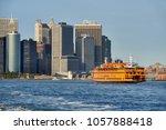 new york city  ny  usa  ... | Shutterstock . vector #1057888418