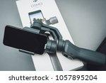 kaunas  lithuania   march 30 ... | Shutterstock . vector #1057895204