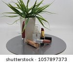 cosmetics on the table | Shutterstock . vector #1057897373