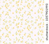 cute floral pattern in the... | Shutterstock .eps vector #1057901993