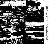 black and white grunge stripe... | Shutterstock .eps vector #1057903850