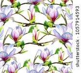watercolor seamless pattern... | Shutterstock . vector #1057914593