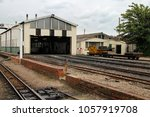 Small photo of Hythe,East Sussex/UK 8/1/16 Romney, Hythe and Dymchurch miniature railway. Railway sheds