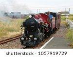 hythe kent uk 8 1 16 romney ... | Shutterstock . vector #1057919729