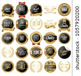 luxury labels and laurels... | Shutterstock .eps vector #1057920200