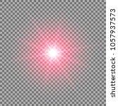 sunlight with lens flare effect ... | Shutterstock .eps vector #1057937573