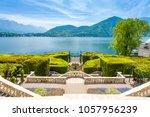facade of villa carlotta  at... | Shutterstock . vector #1057956239