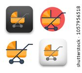 flat vector icon   illustration ...   Shutterstock .eps vector #1057956518