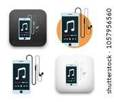 illustration of music player...   Shutterstock .eps vector #1057956560