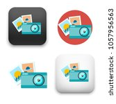 illustration of photography icon | Shutterstock .eps vector #1057956563