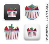 illustration of shopping basket ...   Shutterstock .eps vector #1057956569