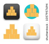 flat vector icon   illustration ... | Shutterstock .eps vector #1057957694