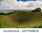 view over auckland in new... | Shutterstock . vector #1057968818