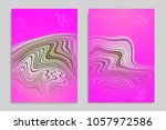 minimal banner templates with... | Shutterstock .eps vector #1057972586