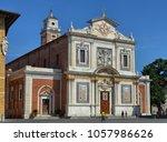 pisa  italy  tuscany. august 30 ... | Shutterstock . vector #1057986626