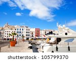 Eivissa Ibiza Town With Church...