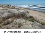 dune shoreline in north... | Shutterstock . vector #1058020934