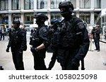 demonstration in managing the...   Shutterstock . vector #1058025098