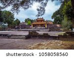hue  vietnam 08 march 2018 ... | Shutterstock . vector #1058058560
