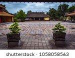 hue  vietnam 08 march 2018 ... | Shutterstock . vector #1058058563