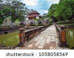 hue  vietnam 08 march 2018 ... | Shutterstock . vector #1058058569