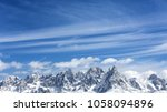 Winter Mountains  Panorama  ...