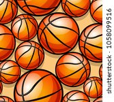 seamless pattern with... | Shutterstock .eps vector #1058099516