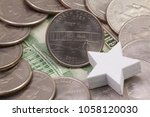 a quarter of north carolina ... | Shutterstock . vector #1058120030
