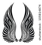 wings | Shutterstock .eps vector #105814874