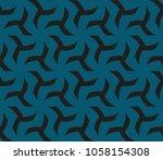 geometric shape abstract vector ...   Shutterstock .eps vector #1058154308
