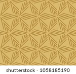 hipster geometric seamless... | Shutterstock .eps vector #1058185190