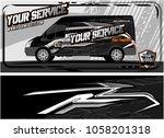 abstract van graphic kit for... | Shutterstock .eps vector #1058201318
