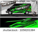abstract van graphic kit for... | Shutterstock .eps vector #1058201384