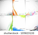 business style templates for... | Shutterstock .eps vector #105823133
