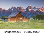 Grand Teton And Old Ranch In...