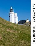 st catherine's lighthouse on... | Shutterstock . vector #1058274548