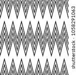 seamless geometric pattern.... | Shutterstock .eps vector #1058291063