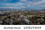 aerial view of escazu  costa... | Shutterstock . vector #1058293049