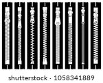 illustration of different... | Shutterstock .eps vector #1058341889