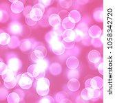 a baby pink bokeh background... | Shutterstock . vector #1058342720