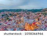 outlook of guanajuato | Shutterstock . vector #1058366966
