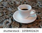 espresso coffee  cup   Shutterstock . vector #1058402624