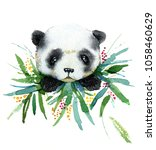 watercolor hand drawn... | Shutterstock . vector #1058460629
