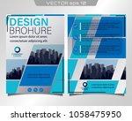 poster flyer pamphlet brochure... | Shutterstock .eps vector #1058475950