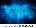 2d rendering stock market... | Shutterstock . vector #1058476049