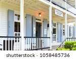 former naval officer's house ... | Shutterstock . vector #1058485736