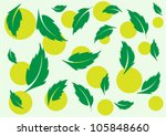 green leaves | Shutterstock .eps vector #105848660