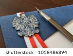 Small photo of polish emblem and documents