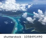 islands of french polynesia | Shutterstock . vector #1058491490